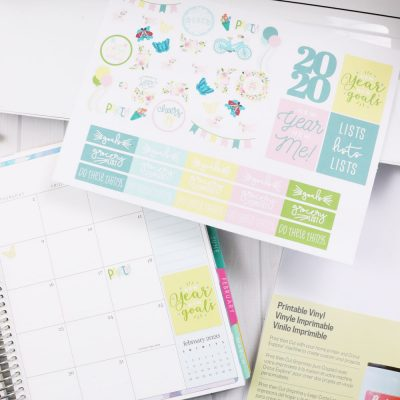 Cricut 2020 Planner Stickers