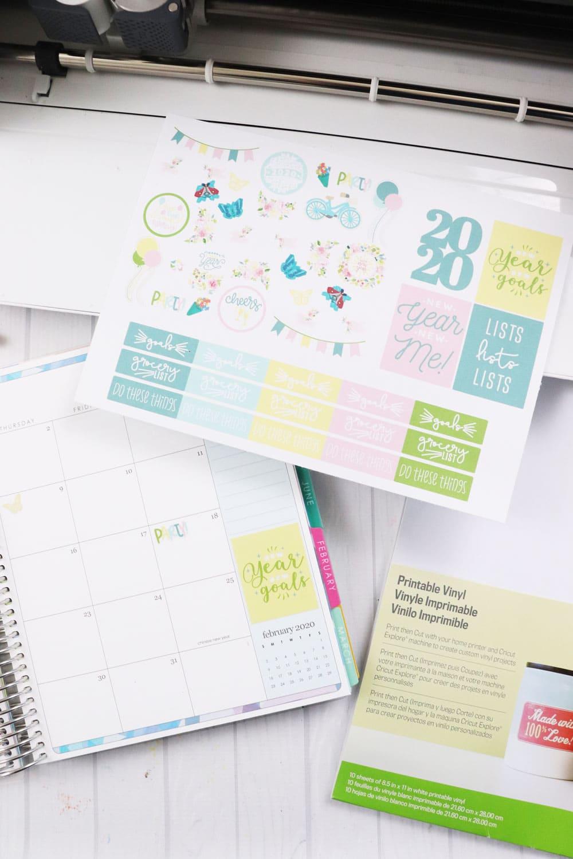 Cricut 2020 Planner Stickers