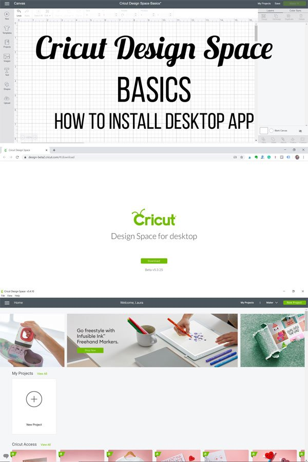 How To Install Cricut Design Space For Desktop Laura S Crafty Life
