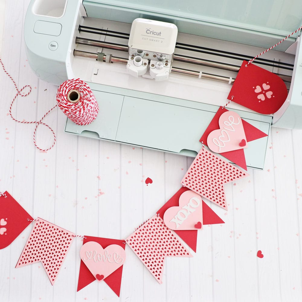 Cricut Valentines Day Banner