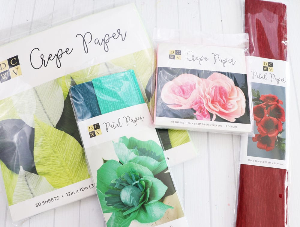 DCWV petal paper