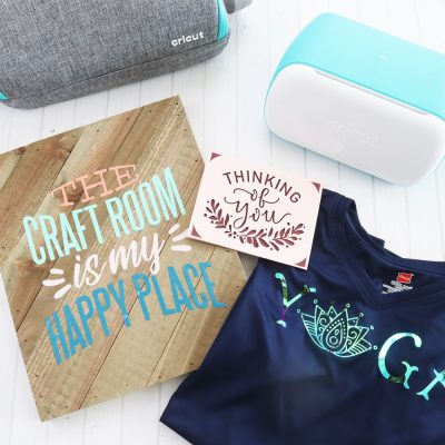 3 projects with Cricut Joy