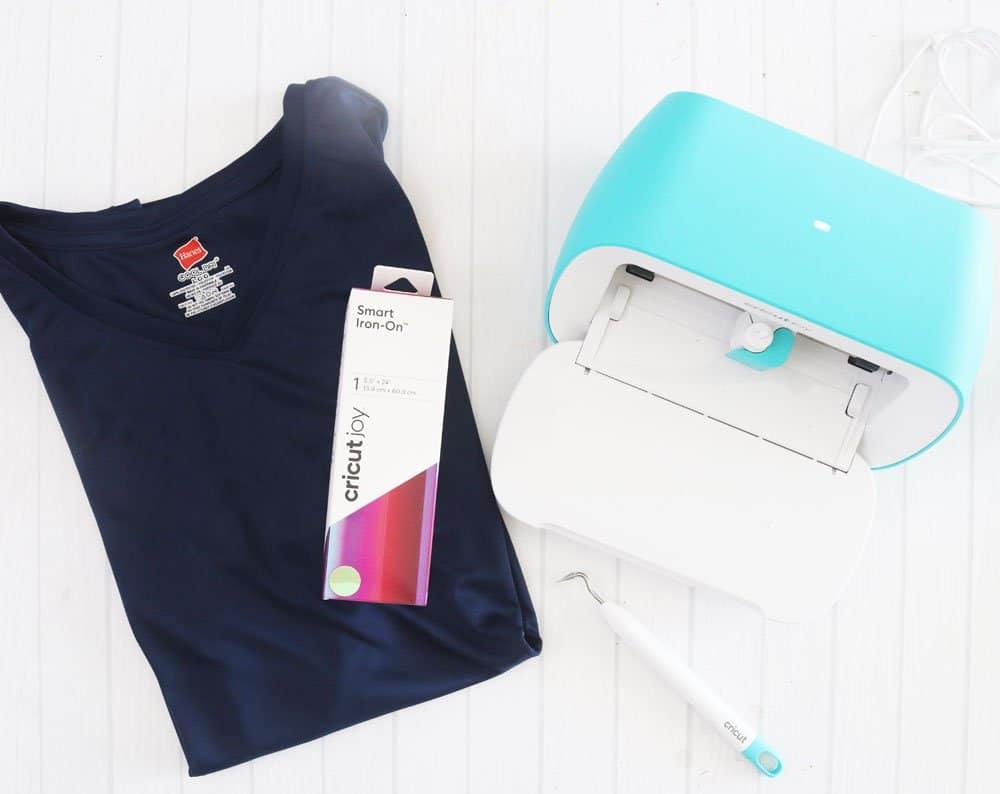 supplies Cricut Joy shirt