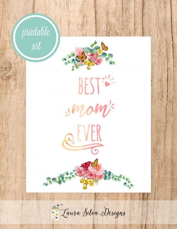 best mom ever printable