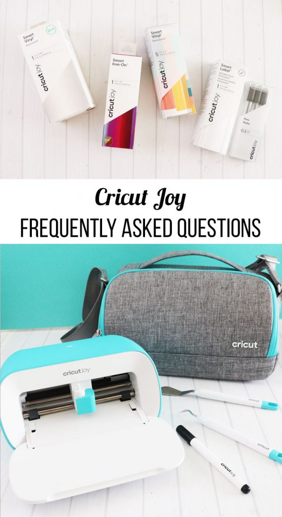 cricut joy frequently asked questions