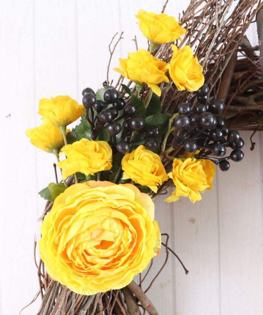 Hufflepuff flowers