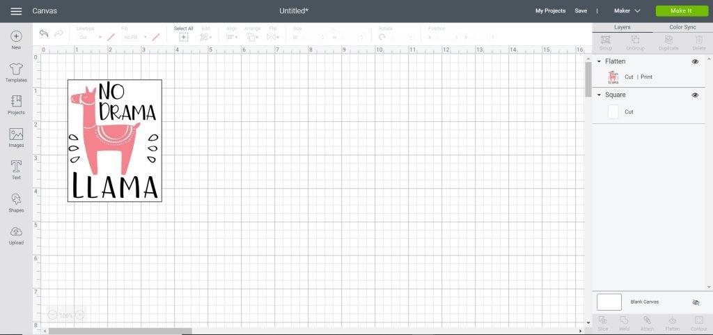 add rectangle shape around image