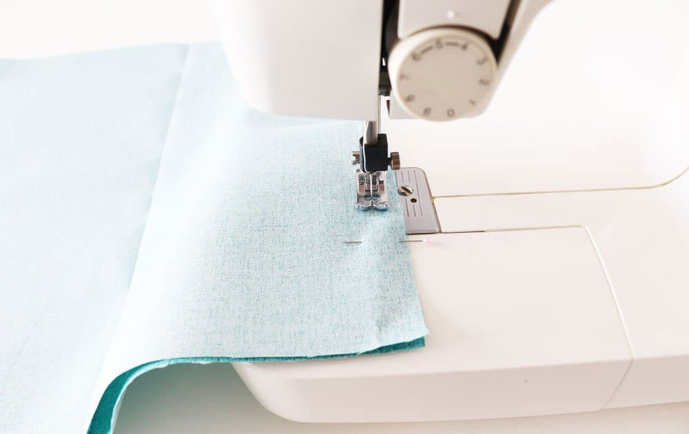 sew fabric pieces together