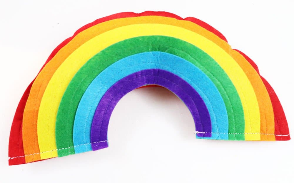 stitch rainbow closed