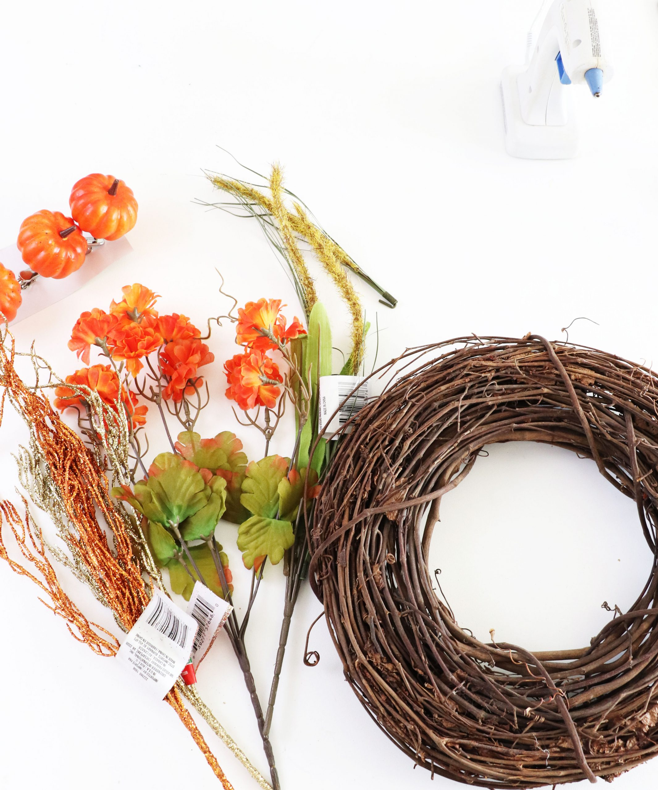 supplies fall wreath