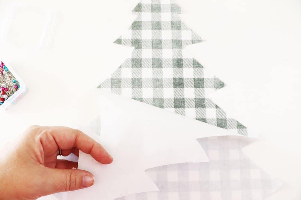 peel paper backing