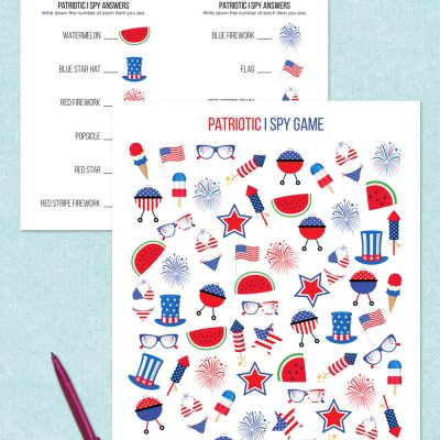 free printable patriotic i spy game