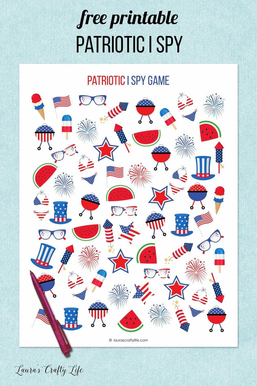 patriotic I spy