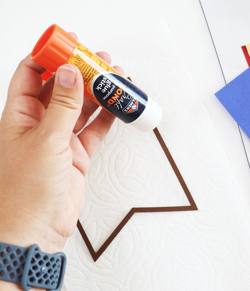 glue together Hogwarts banner