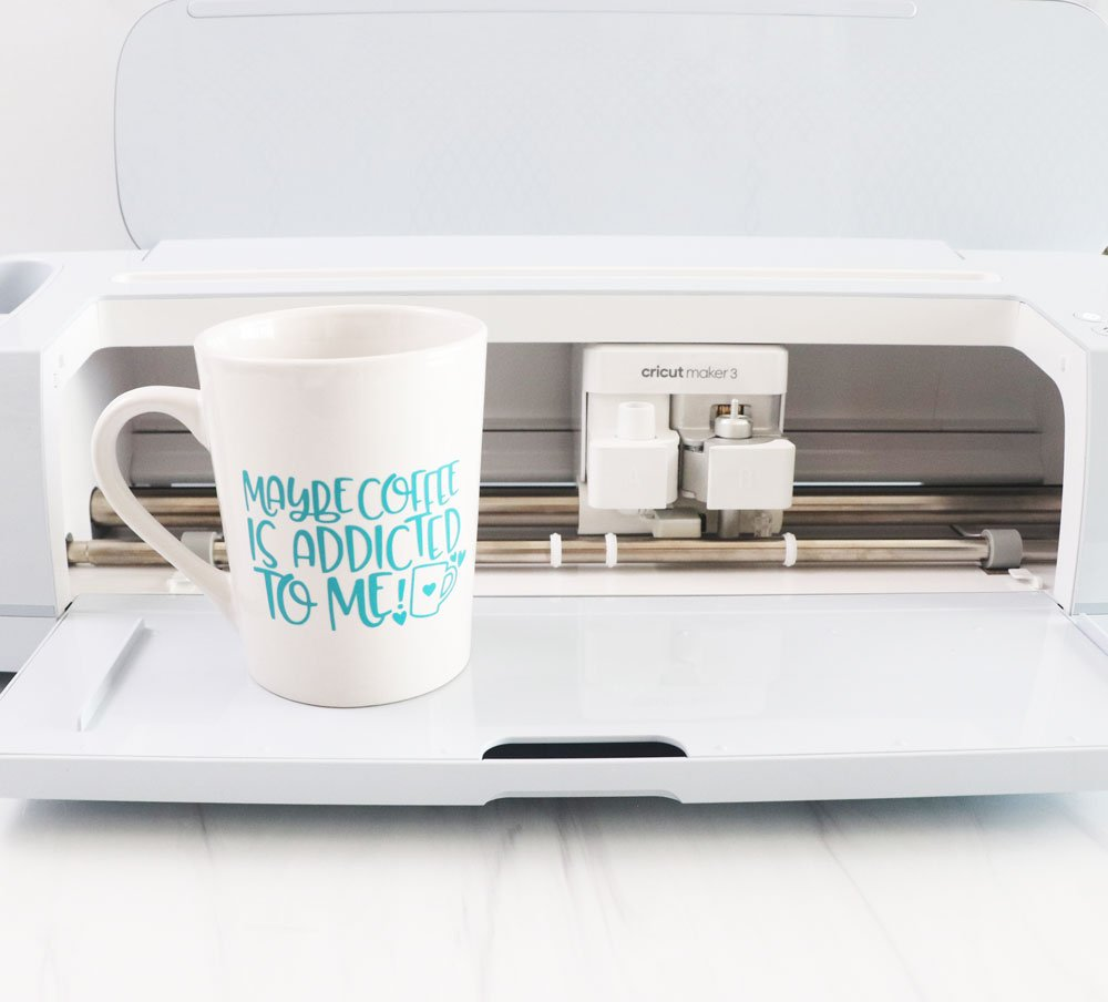 maybe coffee mug with Cricut Maker 3