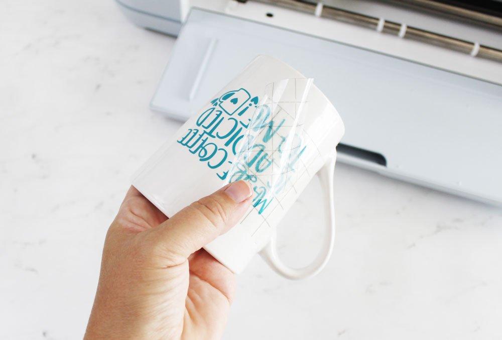 peel transfer tape off design