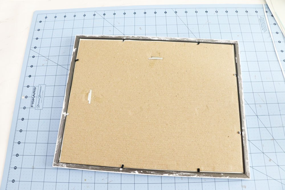 replace vinyl in frame