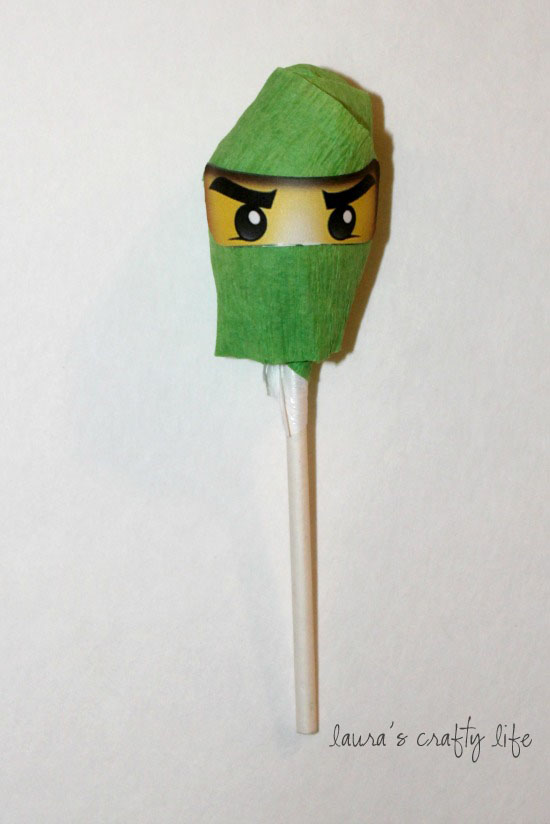 Ninjago Lollipops and Printable Ninjago Eyes - Laura's ...