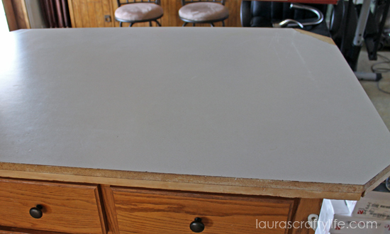 Laminate Countertop Corner Options : Kitchen Makeover: Final Reveal Part One - Lauras Crafty Life