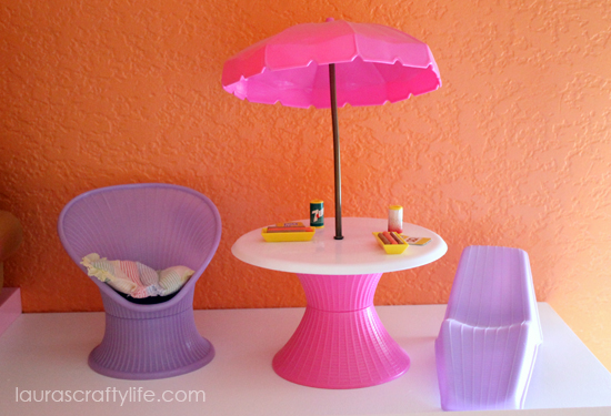 Awesome Diy Barbie House Laura S Crafty Life On How To Make Furniture Out Of Household With