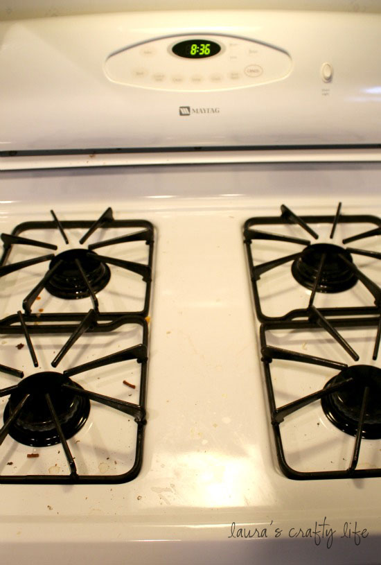 how to clean oven grates