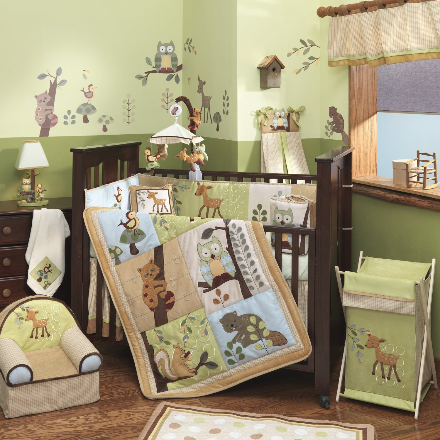 Baby Boy Nursery Themes: Enchanted Forest Baby Shower