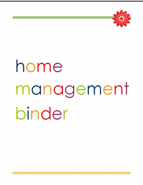 Setting Up A Home Management Binder Laura S Crafty Life