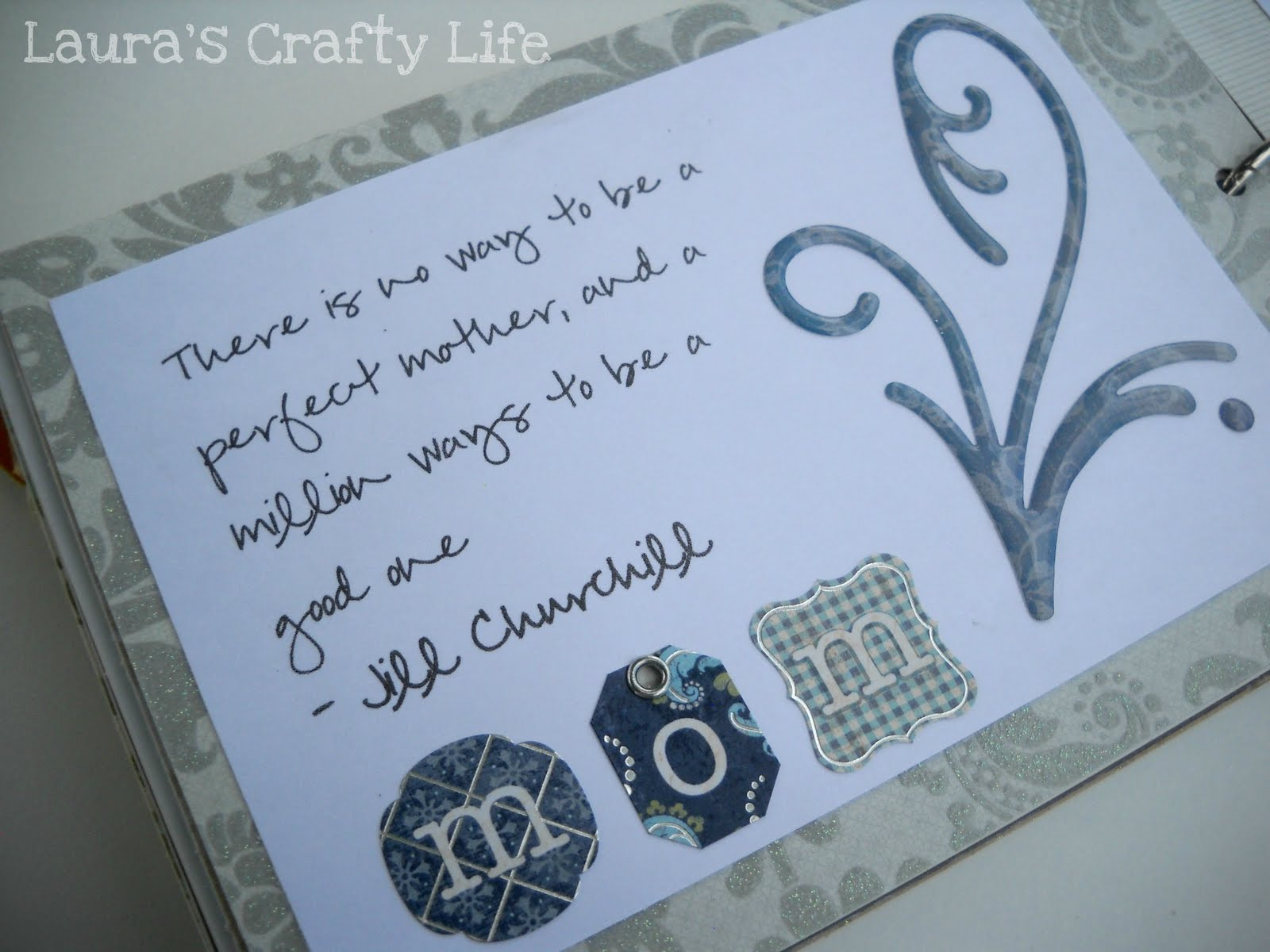 Quotes For Baby Shower Baby Shower Advice Book  Laura's Crafty Life