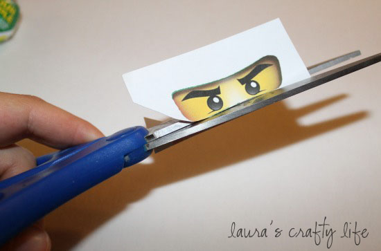 picture relating to Printable Ninjago Eyes named Ninjago Lollipops and Printable Ninjago Eyes - Lauras