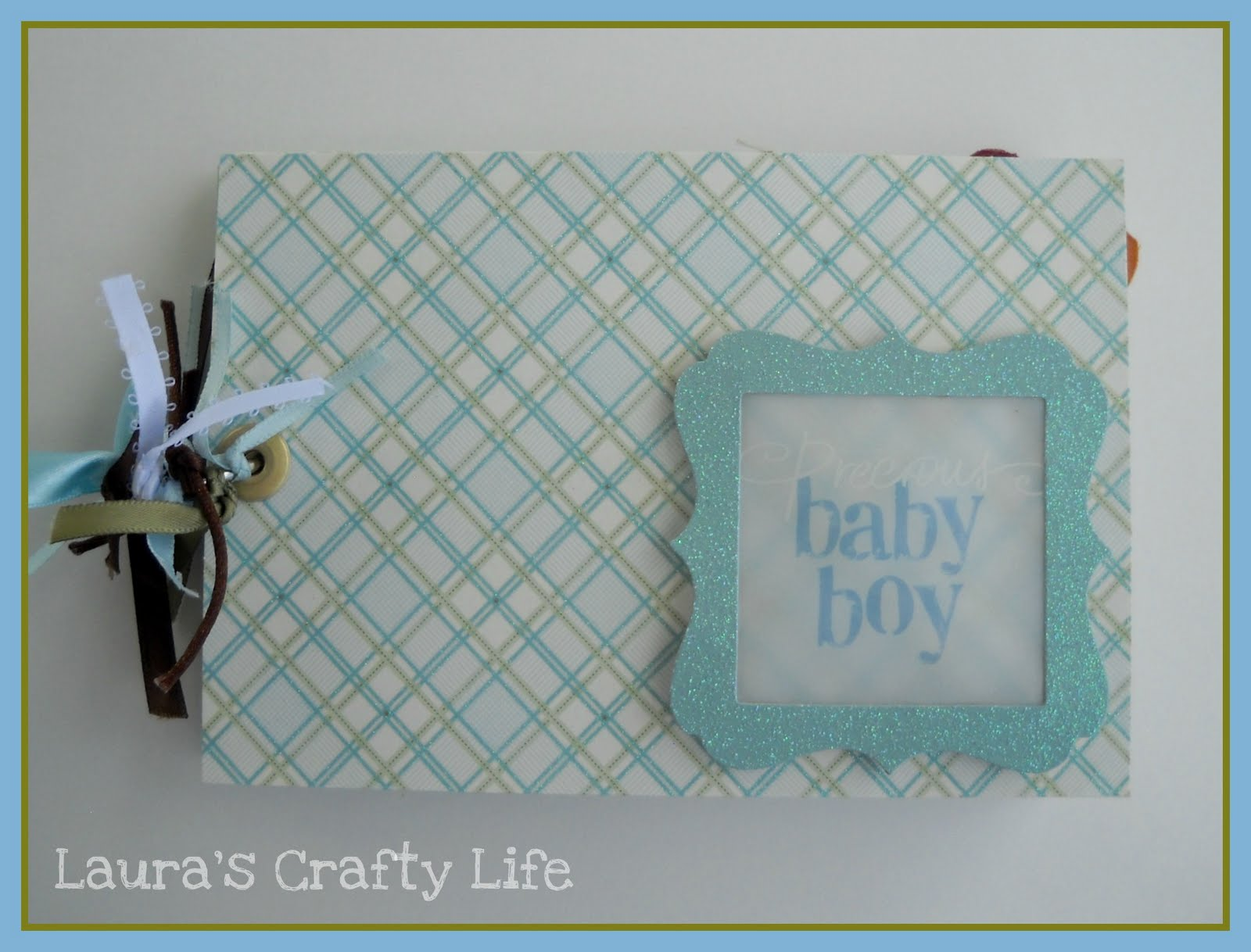 Baby Shower Gifts To Mail ~ Baby shower: advice book lauras crafty life