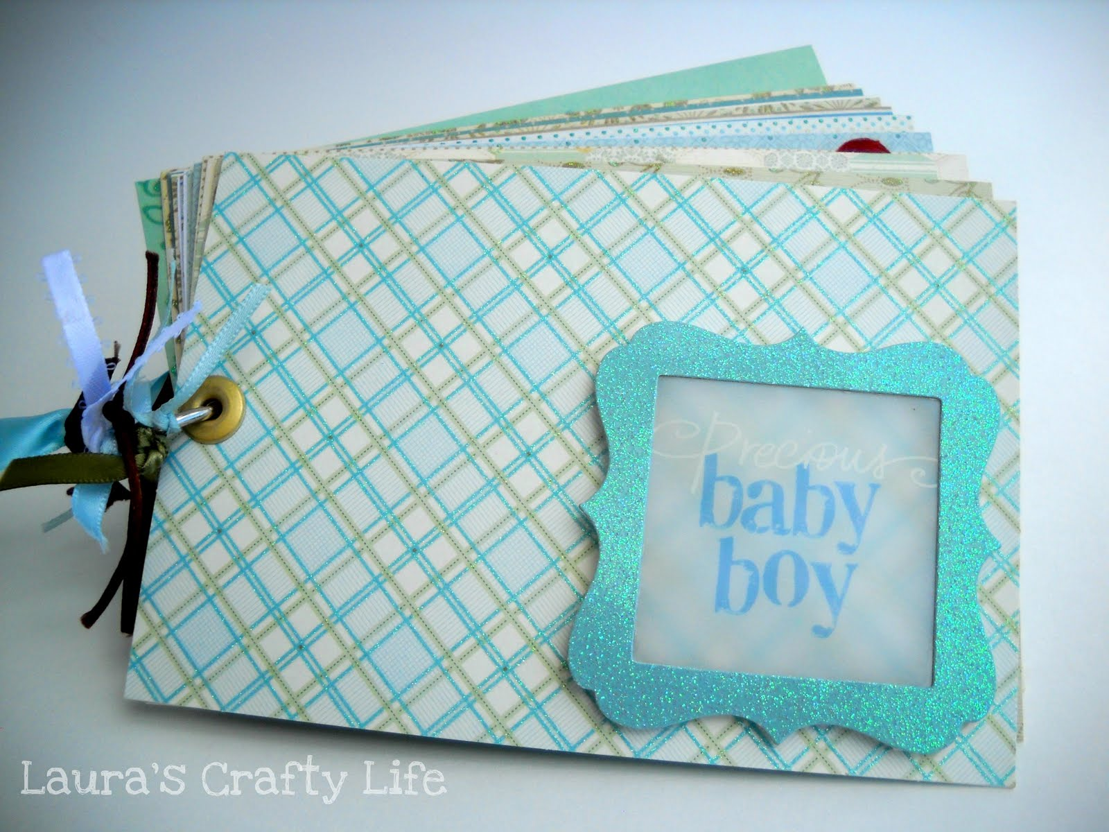 Baby shower advice book lauras crafty life baby shower advice book negle Gallery
