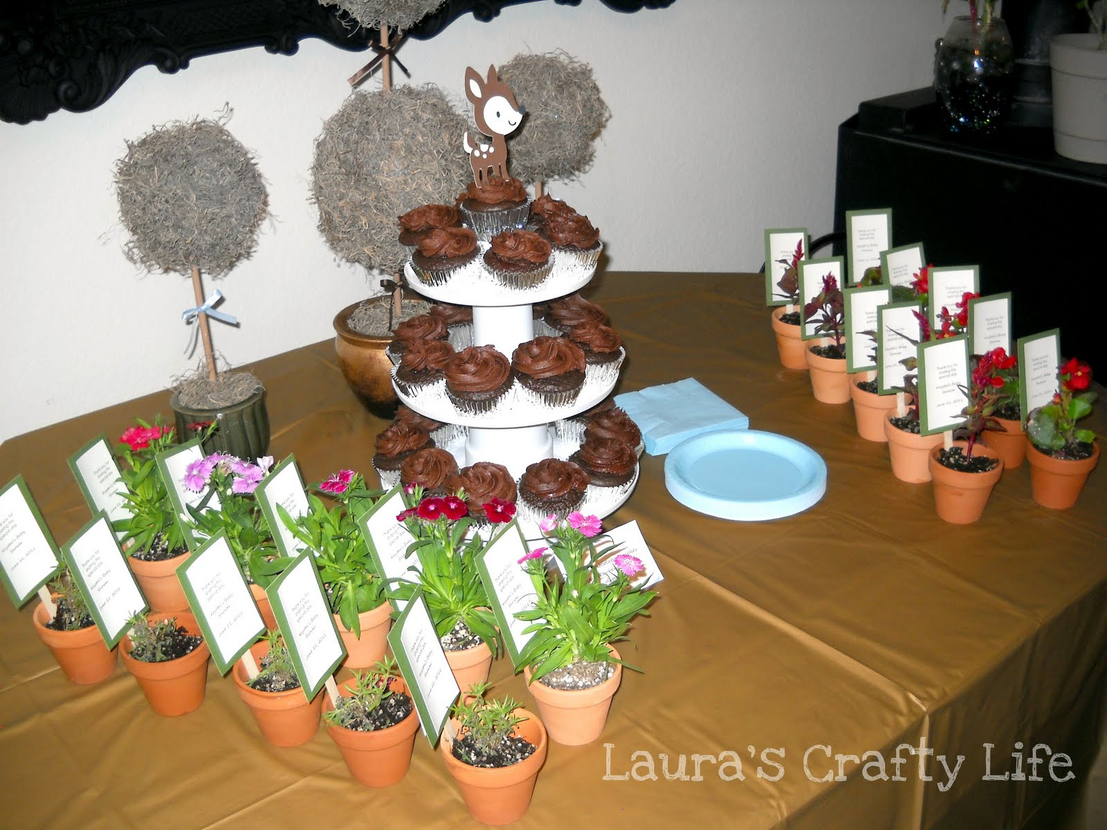 Enchanted Forest Baby Shower Laura S Crafty Life
