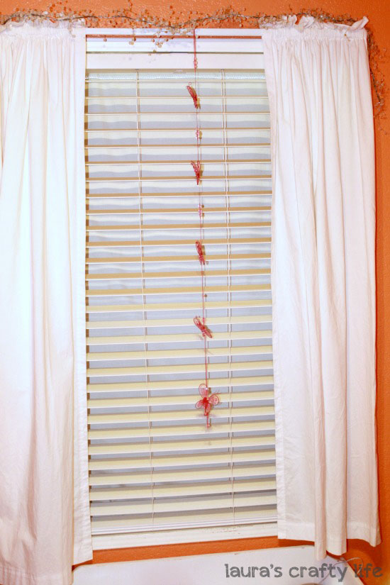 Tension Rod Blackout Curtains - Laura's Crafty Life