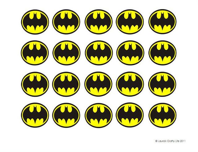 Gallery For gt Batman Logo Cupcakes
