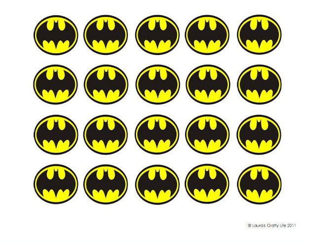 Download printable batman symbols . (This download is for personal use ...